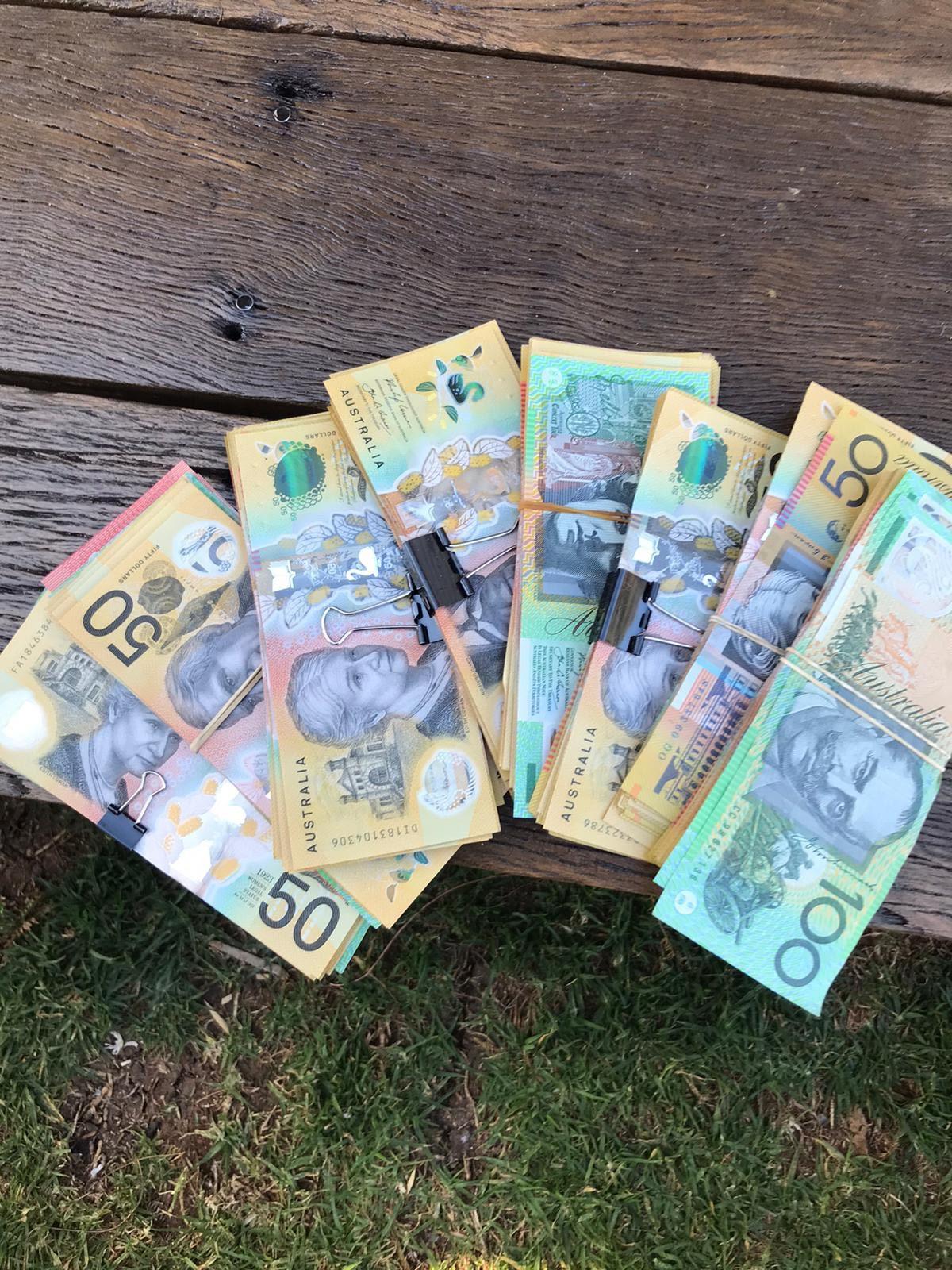buy fake aud money